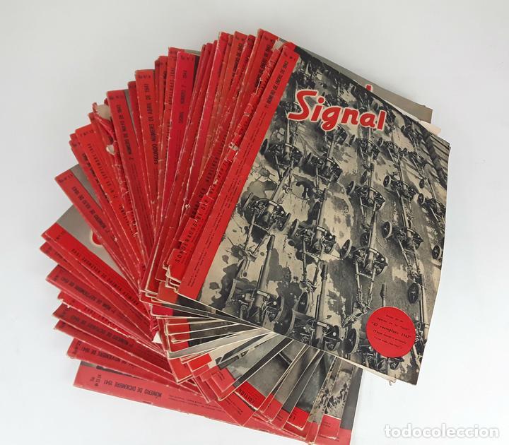 SIGNAL. 58 REVISTAS. 1940-1944. (Coleccionismo - Revistas y Periódicos Modernos (a partir de 1.940) - Otros)