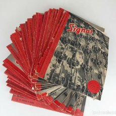 Coleccionismo de Revistas y Periódicos: SIGNAL. 58 REVISTAS. 1940-1944.. Lote 117222595