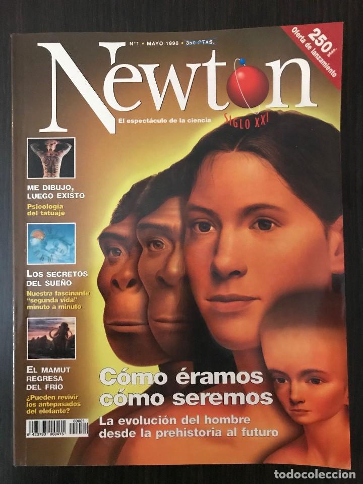 NÚMERO 1, REVISTA NEWTON, MAYO 1998 (Coleccionismo - Revistas y Periódicos Modernos (a partir de 1.940) - Otros)