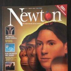 Coleccionismo de Revistas y Periódicos: NÚMERO 1, REVISTA NEWTON, MAYO 1998. Lote 117249883