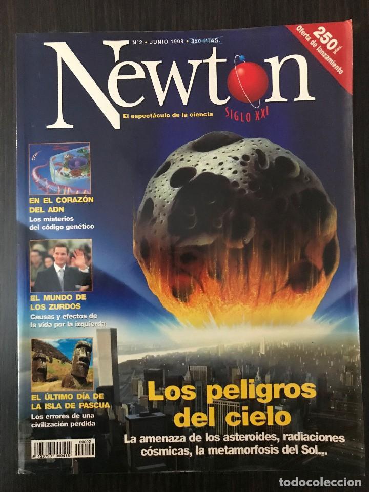 NÚMERO 2, REVISTA NEWTON, JUNIO 1998 (Coleccionismo - Revistas y Periódicos Modernos (a partir de 1.940) - Otros)
