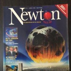 Coleccionismo de Revistas y Periódicos: NÚMERO 2, REVISTA NEWTON, JUNIO 1998. Lote 117249955