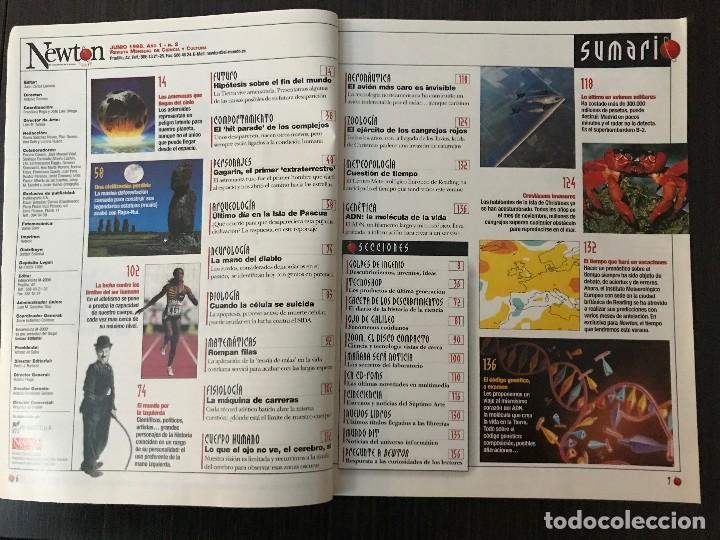Coleccionismo de Revistas y Periódicos: Número 2, Revista Newton, Junio 1998 - Foto 2 - 117249955
