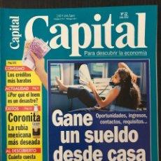 Coleccionismo de Revistas y Periódicos: CAPITAL ECONOMÍA - Nº 22 JULIO 2002. Lote 117250191