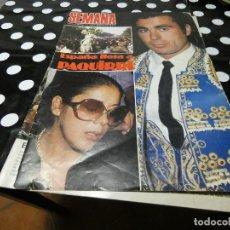 Coleccionismo de Revistas y Periódicos: REVISTA SEMANA NUM 2330 13 OCTUBRE 1984 ESPAÑAL LORA PAQUIRRI TAPAS SUELTAS. Lote 117264251