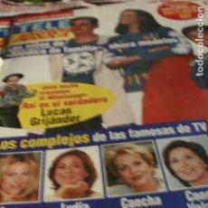Coleccionismo de Revistas y Periódicos: REVISTA TELE INDISCRETA Nº 610 ADHESIVOS ANA OBREGON LYDIA BOSCH 1996. Lote 117285531