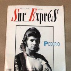 Coleccionismo de Revistas y Periódicos: SUR EXPRÉS, REVISTA MOVIDA MADRILEÑA POSMODERNA. N°8, MARZO 1988. CAMARÓN, WIM WENDERS,... Lote 117285803