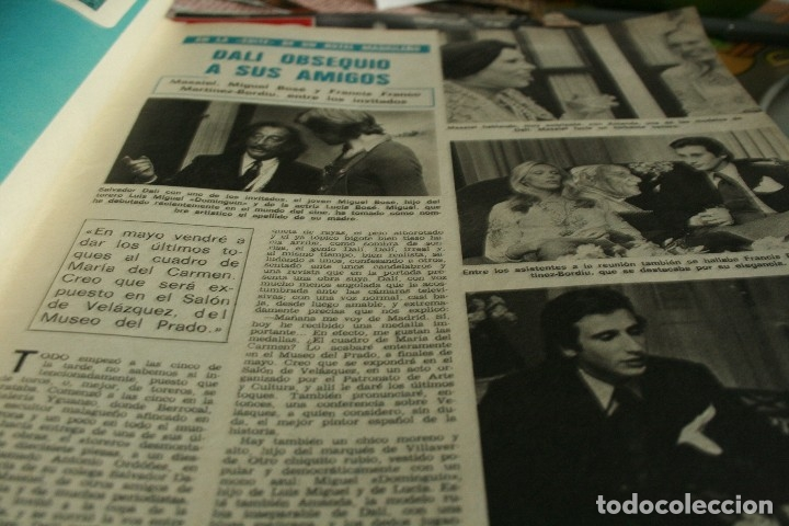 Coleccionismo de Revistas y Periódicos: SALVADOR DALI JAIME MOREY GRACITA MORALES UN DOS TRES 1972 - Foto 2 - 117289639