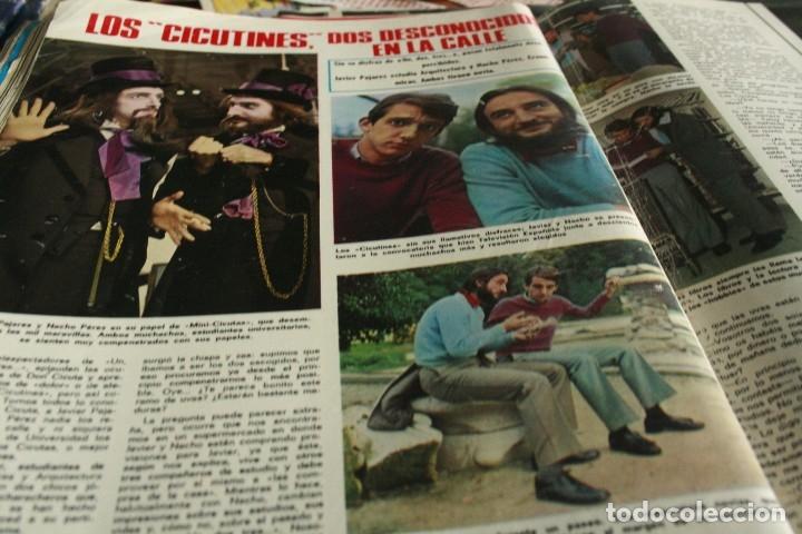 Coleccionismo de Revistas y Periódicos: SALVADOR DALI JAIME MOREY GRACITA MORALES UN DOS TRES 1972 - Foto 3 - 117289639
