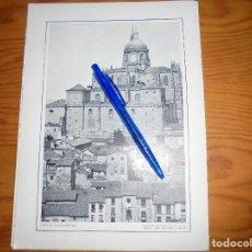 Coleccionismo de Revistas y Periódicos: RECORTE PRENSA : CATEDRAL DE SALAMANCA, VISTA EXTERIOR. BLANCO Y NEGRO , OCTUBRE 1915. Lote 117310927