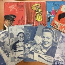 Coleccionismo de Revistas y Periódicos: LOTE DE REVISTAS FEMENINAS AÑOS 50 PARA NOSOTRAS, VOLAD, MERIDIANO FEMENINO. Lote 117320687