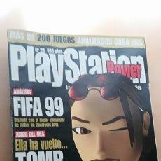 Coleccionismo de Revistas y Periódicos: REVISTA VIDEOJUEGOS PLAYSTATION POWER Nº 20 - TOMB RAIDER 3, FIFA 99 (SOLO REVISTA). Lote 176856223