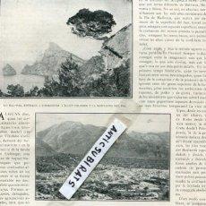 Coleccionismo de Revistas y Periódicos: REVISTA AÑO 1910 MALLORCA MAL PAS CASTELL DEL REY POLLENSA LLUCH SOLLER GORC BLAU FELANITX DRAGONERA. Lote 117430047