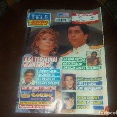 Coleccionismo de Revistas y Periódicos: REVISTA DE TELE INDISCRETA AÑO 1991 NÚMERO 331 PORTADA FALCÓN CREST TANAIRI LORENZO LAMAS. Lote 130170142