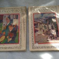 Coleccionismo de Revistas y Periódicos: 2 REVISTAS BLANCO Y NEGRO. AÑO 1928. Lote 117511383