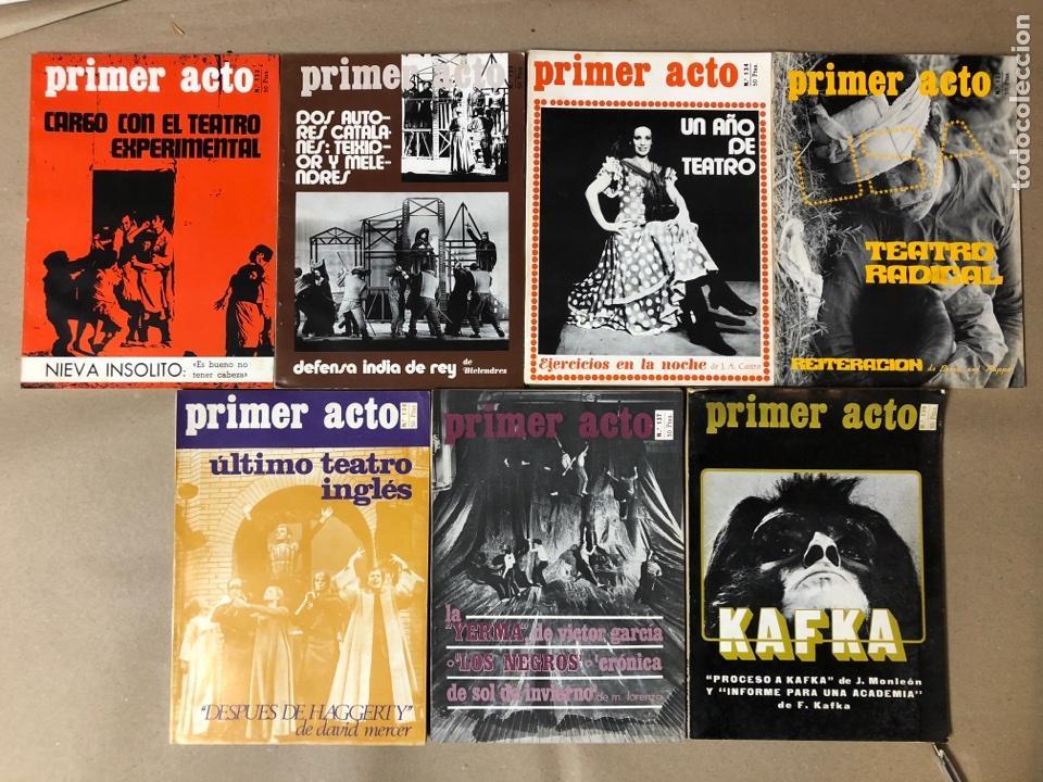 REVISTA PRIMER ACTO. N° 132, 133, 134, 135, 136, 137 Y 139. AÑO 1971. (Coleccionismo - Revistas y Periódicos Modernos (a partir de 1.940) - Otros)