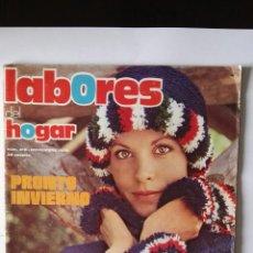 Coleccionismo de Revistas y Periódicos: REVISTA LABORES DEL HOGAR N° 210 NOVIEMBRE 1975 BORDADO MANUALIDADES GANCHILLO. Lote 117519708