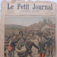 Coleccionismo de Revistas y Periódicos: ANTIQUE PRINT PETIT JOURNAL FRENCH LA GUERRE AU TRANSVAAL ,1899. Lote 117522199