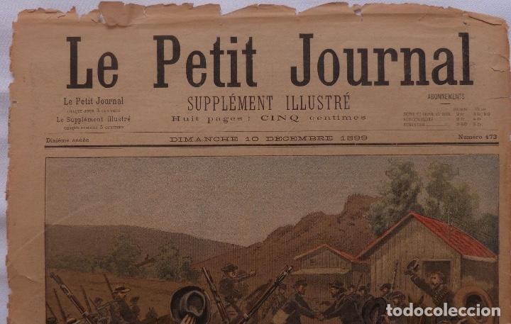 Coleccionismo de Revistas y Periódicos: Antique print petit journal french La Guerre Au Transvaal ,1899 - Foto 4 - 117522199