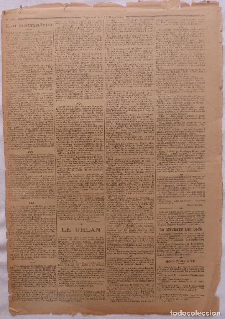 Coleccionismo de Revistas y Periódicos: Antique print petit journal french La Guerre Au Transvaal ,1899 - Foto 5 - 117522199