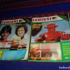 Coleccionismo de Revistas y Periódicos: LOTE 2 REVISTA CHISS AÑO 1978 CON STAR WARS MARK HAMILL Y PÓSTER DE MAZINGER Z Y ATLÉTICO DE MADRID.. Lote 117532095