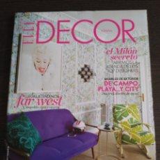 Coleccionismo de Revistas y Periódicos: ELLE DECOR Nº 141. MAYO 2015. Lote 117550327