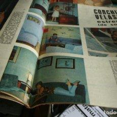 Coleccionismo de Revistas y Periódicos: CONCHA VELASCO SEAT 600 GALIANA 1961. Lote 117607803