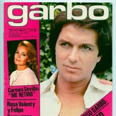 Coleccionismo de Revistas y Periódicos: GARBO - 1979 - CAMILO SESTO, CARMEN SEVILLA, LAS TRILLIZAS, SARA MONTIEL, MAYRA, ORZOWEI, DALI. Lote 50119590