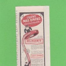 Coleccionismo de Revistas y Periódicos: PUBLICIDAD 1957. ANUNCIO INSTITUTO AMERICANO. Lote 117679171