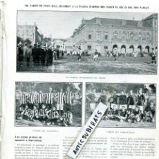 Coleccionismo de Revistas y Periódicos: REVISTA AÑO 1910 FUTBOL CLUB BARCELONA F. C. BARÇA CONTRA EL RCD R.C.D. REAL CLUB DEPORTIVO ESPAÑOL. Lote 117724523