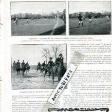 Coleccionismo de Revistas y Periódicos: REVISTA AÑO 1911 FUTBOL CLUB BARCELONA BARÇA F. C. Y EL CLUB DEPORTIVO ESPAÑOL EN BARCELONA RCD. Lote 117742603