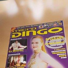 Coleccionismo de Revistas y Periódicos: REVISTA MICRO DINGO Nº 31 DOSSIER MUERTOS FAMOSOS, DOSSIER MUNDO GORE (SIN CD). Lote 117797203