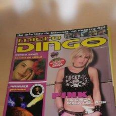 Coleccionismo de Revistas y Periódicos: REVISTA MICRO DINGO Nº 43 PINK DOSSIER PROFECIAS, LIV TYLER (SIN CD). Lote 117798767