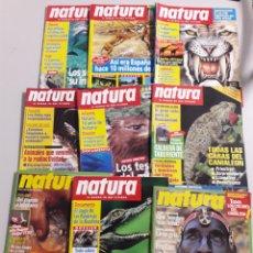 Coleccionismo de Revistas y Periódicos: LOTE 22 REVISTAS NATURA. Lote 117819923