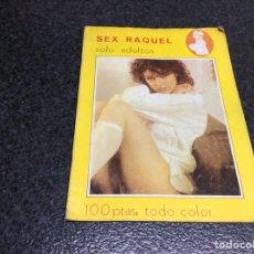 Coleccionismo de Revistas y Periódicos: SEX RAQUEL ( REVISTA EROTICA DE LOS 70 ). Lote 117846811