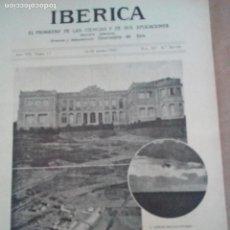 Coleccionismo de Revistas y Periódicos: IBERICA Nº361 1921 FOTOS AERODROMO DE CUATRO VIENTOS . Lote 117849471