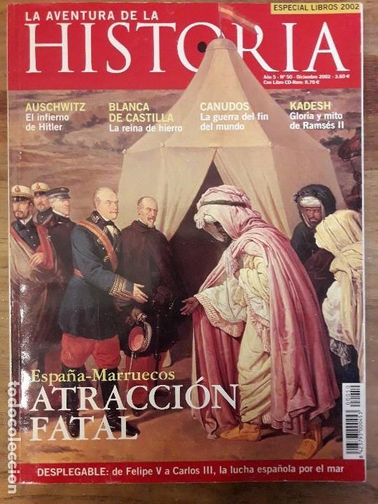 REVISTA LA AVENTURA DE HISTORIA N° 50. (Coleccionismo - Revistas y Periódicos Modernos (a partir de 1.940) - Otros)