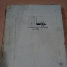 Coleccionismo de Revistas y Periódicos: REVISTA FILM IDEAL AÑO 1961 COMPLETO ENCUADERNACION CASERA - NUMEROS 39 AL 62 - VER FOTOS . Lote 117929703