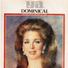 Coleccionismo de Revistas y Periódicos: 1986. NUR DE JORDANIA.RICARDO MACARRÓN.EULALIA HERMITAÑA.MIGUEL RIOS,TINA TURNER,VARGAS LLOSA.. Lote 117954423