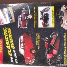 Coleccionismo de Revistas y Periódicos: LOTE 5 REVISTAS AUTOFOTO. Lote 118021379