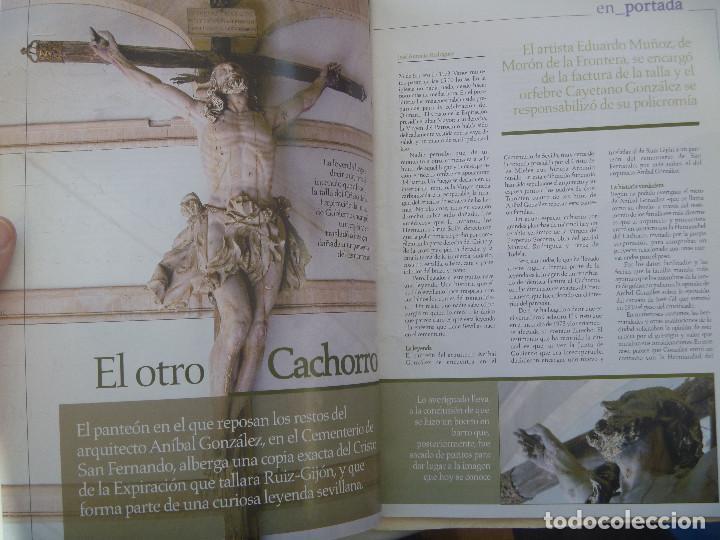 Coleccionismo de Revistas y Periódicos: SEMANA SANTA DE SEVILLA : REVISTA PASION EN SEVILLA DE 2007: EL CACHORRO DEL CEMENTERIO, ETC - Foto 2 - 118025019