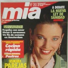 Coleccionismo de Revistas y Periódicos: REVISTA MIA N° 283 FEBRERO 1992. Lote 118033532