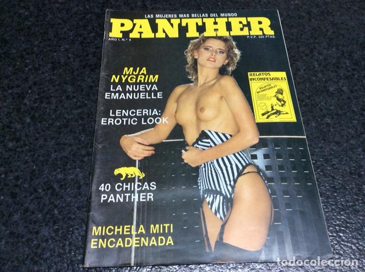 PANTHER Nº 4 MIA NYGREN EMMANUELLE , MICHELA MITI - REVISTAS EROTICAS DE LOS AÑOS 90 (Coleccionismo - Revistas y Periódicos Modernos (a partir de 1.940) - Otros)