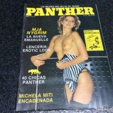 Coleccionismo de Revistas y Periódicos: PANTHER Nº 4 MIA NYGREN EMMANUELLE , MICHELA MITI - REVISTAS EROTICAS DE LOS AÑOS 90. Lote 118050135