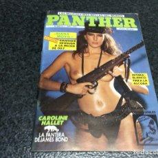 Coleccionismo de Revistas y Periódicos: PANTHER Nº 3 AÑO 1985 CAROLINE HALLET. Lote 184715076