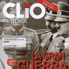 Coleccionismo de Revistas y Periódicos: CLIO HISTORIA N. 198 - EN PORTADA: LA GRAN GUERRA (NUEVA). Lote 118052327
