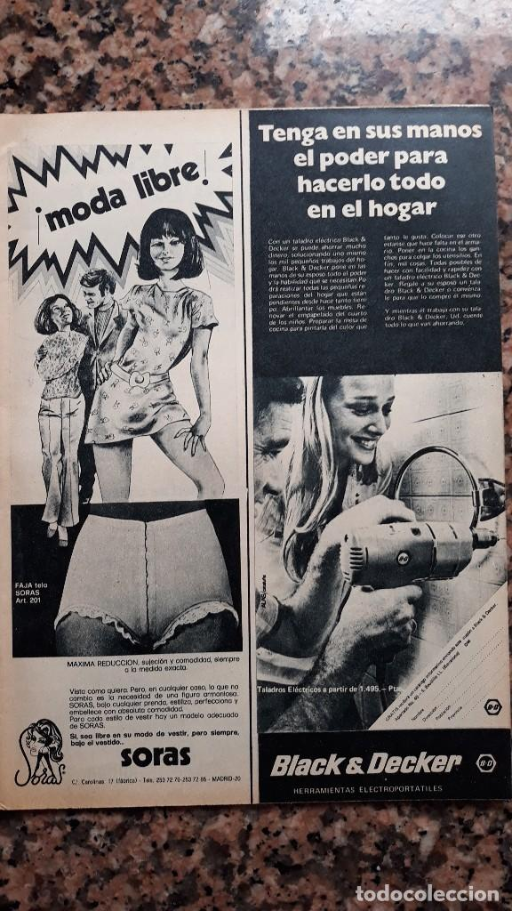 3792e37834 ANUNCIO LENCERIA FAJA SORAS (Coleccionismo - Revistas y Periódicos Modernos  (a partir de 1.940 ...