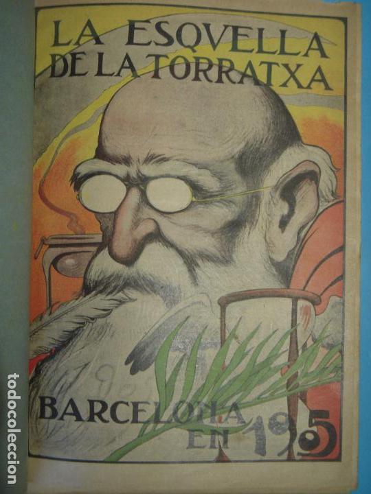 Coleccionismo de Revistas y Periódicos: LA ESQUELLA DE LA TORRATXA 1906 - AÑO COMPLETO EN 1 TOMO - (ILUSTRADO, EN BUEN ESTADO) - Foto 7 - 47478710
