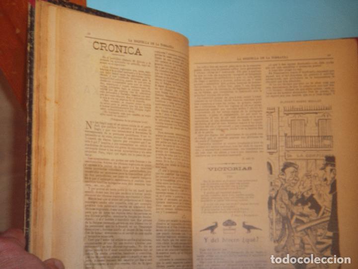 Coleccionismo de Revistas y Periódicos: LA ESQUELLA DE LA TORRATXA 1906 - AÑO COMPLETO EN 1 TOMO - (ILUSTRADO, EN BUEN ESTADO) - Foto 9 - 47478710