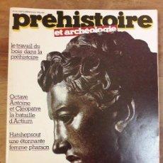 Coleccionismo de Revistas y Periódicos: REVISTA PREHISTOIRE N° 34.. . Lote 118300783